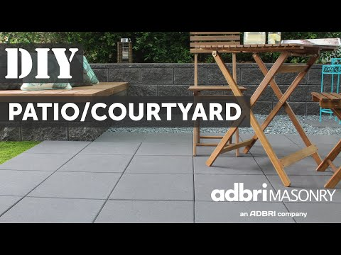 DIY Paving | How to Pave a Courtyard or Patio | Adbri Masonry