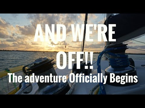(Ep.13)  And We're Off! The Adventure Officially Begins