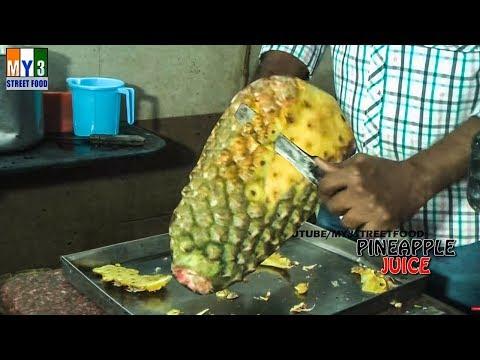 PINEAPPLE JUICE - Rajahmundry Street Foods - ANDHRA STREET FOOD street food
