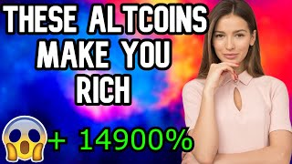 ALTCOINS 10000X 2021 ! - THESE 3 ALTCOINS WILL EXPLODE - CRYPTOCURRENCY 2021 - ALTCOIN 2021