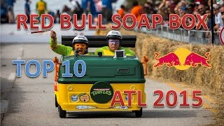 Red Bull Soap Box Race Atlanta 2015 : Top 10