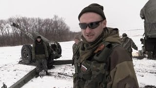 Военные действия на Донбассе. Армия Новороссии в бою. Ополченцы, Новороссия.