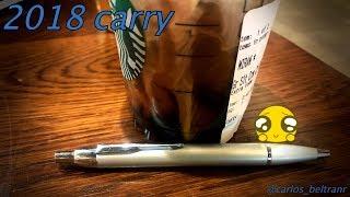 EDC Pen Review   Parker IM retractable ballpoint pen