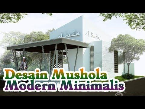 Desain Mushola Modern Minimalis Terbaru masa kini