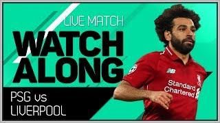 PSG vs LIVERPOOL LIVE Stream Watchalong | Tottenham vs Inter Champions League Updates