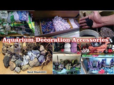 Aquarium Accessories Gravel Driftwood Decoration Items For Your Aquariums
