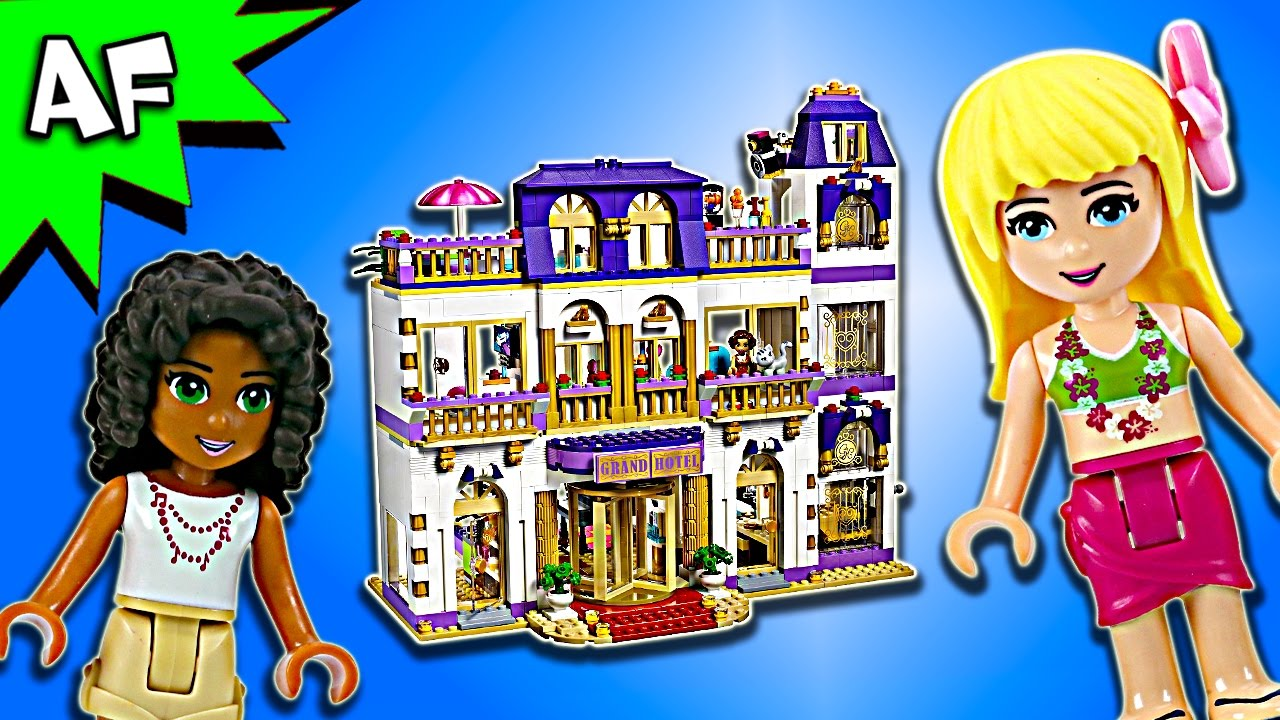 Lego Friends Heartlake Grand Hotel 41101 Speed Build Youtube