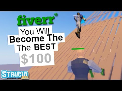 I Hired A Strucid Coach On Fiverr.. And I Became A GOD (Roblox)