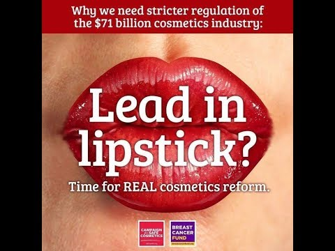 TOXIN FREE Lipstick - 95% of Them are NOT & Full of LEAD