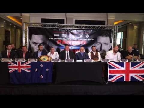 JOSEPH PARKER v HUGHIE FURY - *FULL & UNCUT* PRESS CONFERENCE - WITH TYSON FURY / BIG JOHN FURY