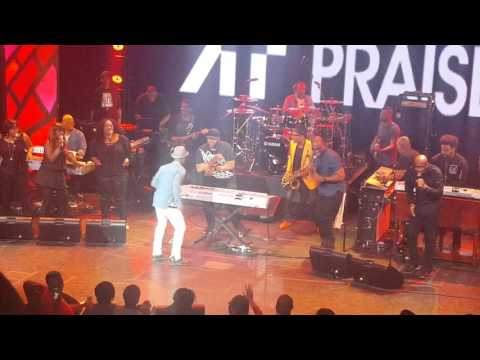 Snippet from gospel cruise All Star show March 2016