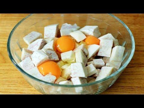 愛吃芋頭的一定要收藏,學會廣州這種特色小吃做法,兩個芋頭不夠吃【夏媽廚房】 - Видео онлайн