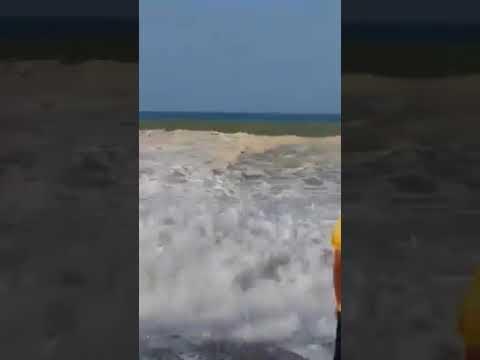VIDÉO CHOC. noyades sur une plage du RIF au Maroc