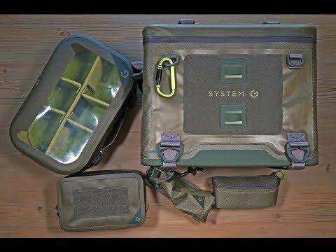 SystemG Cora Modular Fly Fishing Gear Boat Bag