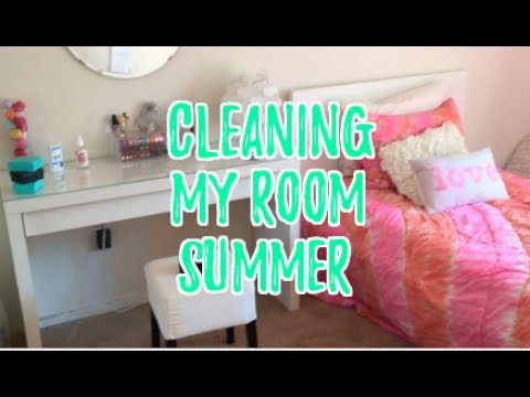 CLEANING MY ROOM FOR SUMMER 2017! (Time Lapse) // Organization & Motivation