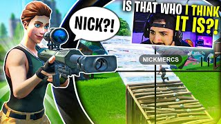I Ran Into A Stream Sniper.. Then THIS Happened.. (Fortnite Battle Royale)