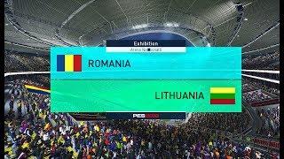 Romania - Lituania (PES 2018)