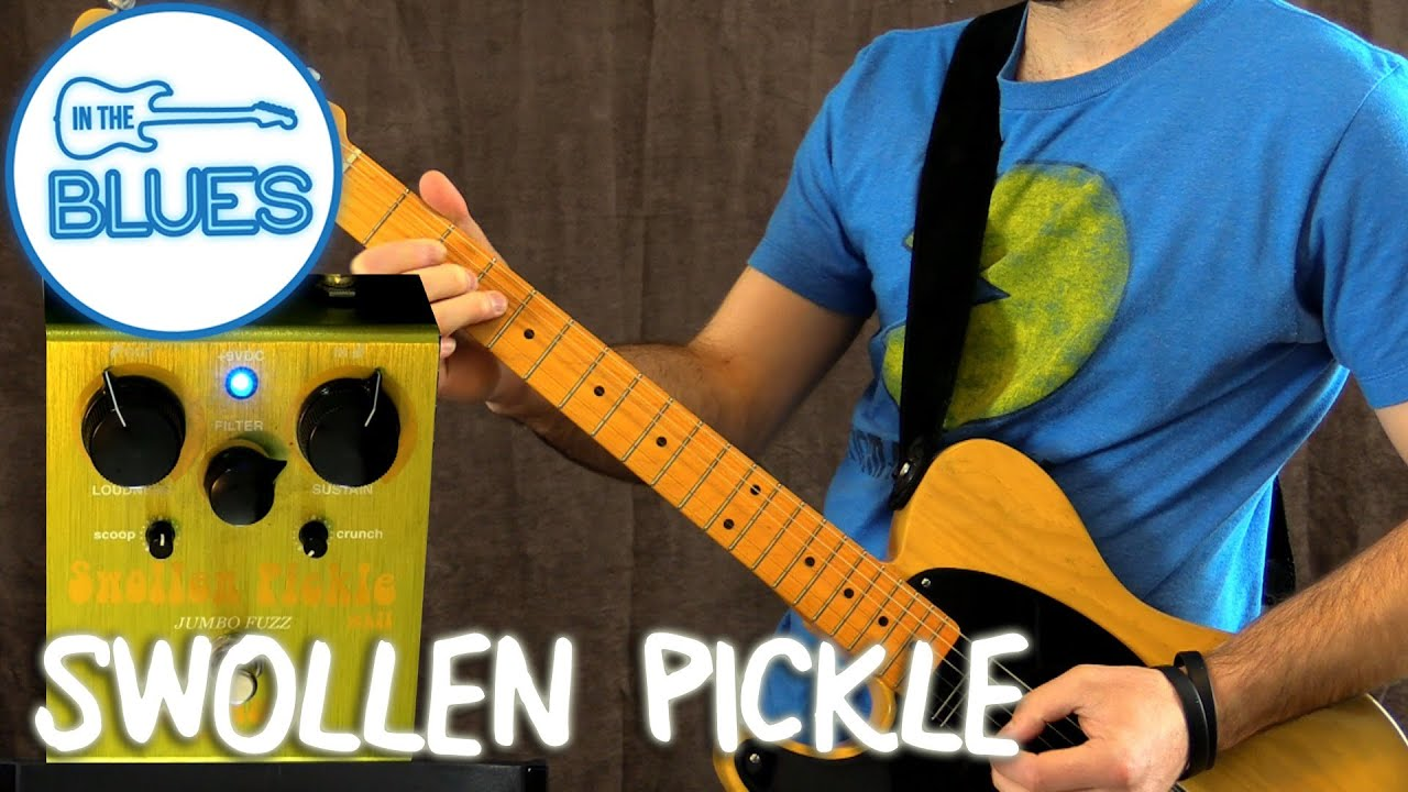 way huge swollen pickle jumbo fuzz pedal demo youtube. Black Bedroom Furniture Sets. Home Design Ideas