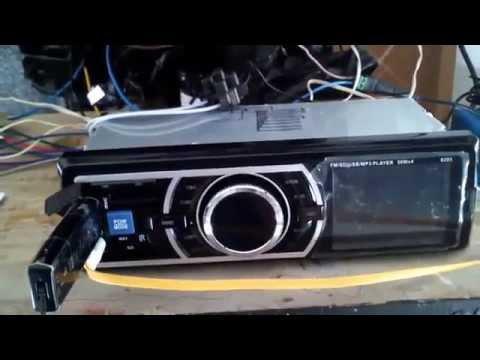 Radio Stereo  MP3 Player FM USB AUX Input pruebas