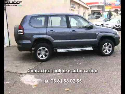 toyota land cruiser occasion visible toulouse pr sent e par toulouse autoccasion youtube. Black Bedroom Furniture Sets. Home Design Ideas