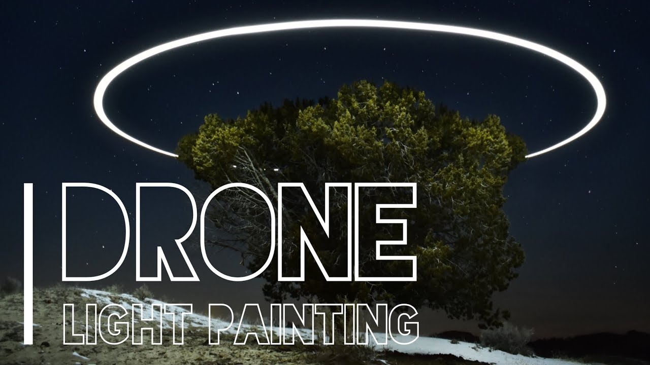 How To Paint Light With Your Drone | Aerial Photography Interview