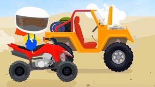 Мультфильм про машинки   - Перегрев - мультфильм для детей