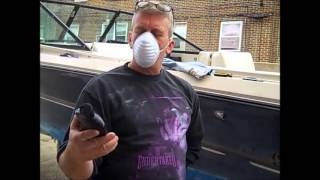 Very effective method on how to REMOVE HEAVY OXIDATION from a boat