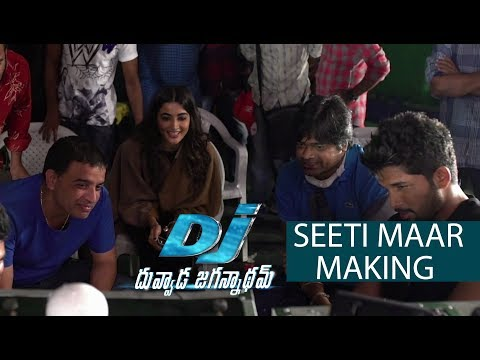 Seeti Maar Song Making - DJ Movie Making |...
