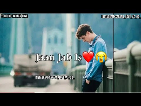 New Version Mere Mehboob Qayamat Hogi ||Sad Song ||Whatsapp Status Video 2018 By Xaraan Love