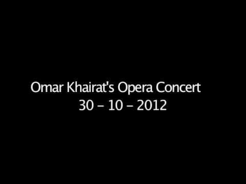 Omar Khairat's Opera Concert October 2012