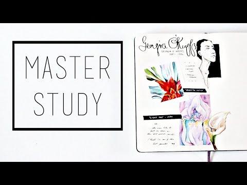 Artist Study · 30 Ways to Fill a Sketchbook · SemiSkimmedMin