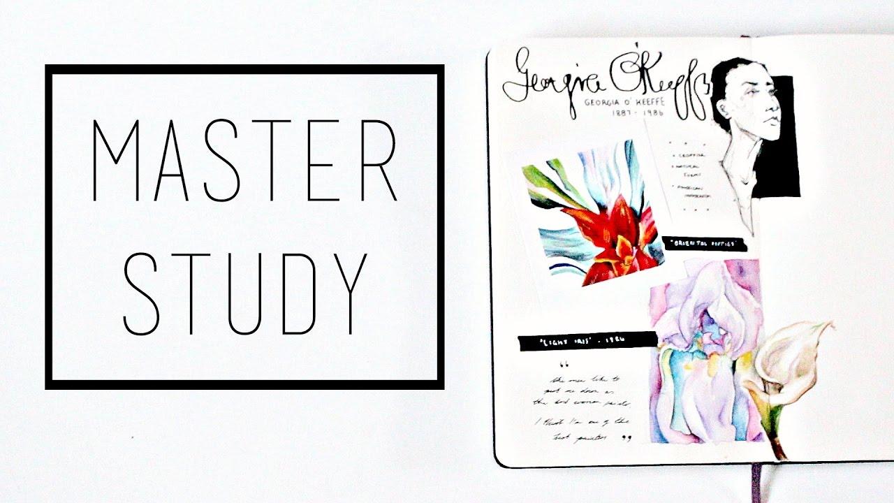 Artist Study U00b7 30 Ways To Fill A Sketchbook U00b7 SemiSkimmedMin - YouTube
