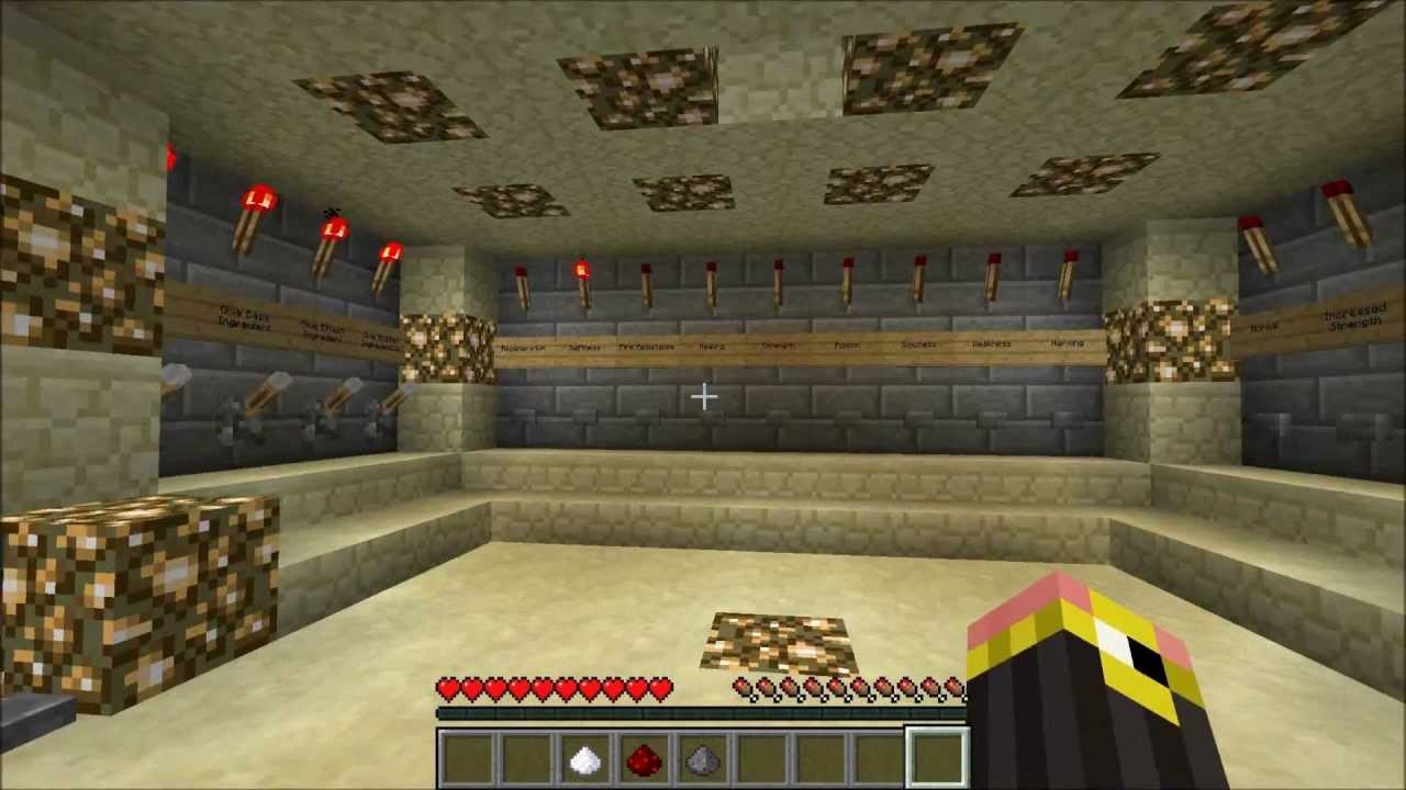 Minecraft Automatic Potion Room Youtube