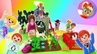 NOWY RODZINNY OGRÓD U WRÓBLEWSKICH? Otwarcie nowego super zestawu od Playmobil Super + minigolf