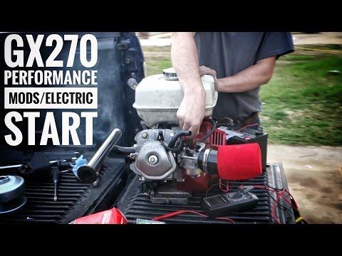 Honda GX270 Engine Performance Mods & Electric Start FSTGK Pt 5