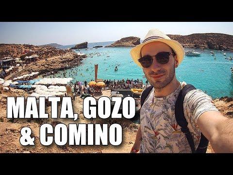 MALTA, GOZO & COMINO - TRAVEL VLOG [2017]