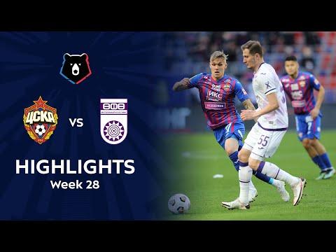 CSKA Moscow Ufa Goals And Highlights