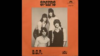 Speers - B.C.R. (Danish Junkshop Glam 76)