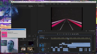 ~ making a vapoŗwave (inspired) music video ~