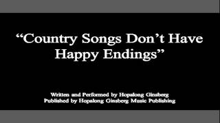 "Hopalong Ginsberg - ""Country Songs Don"