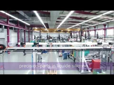 Precision-parts in liquid silicone