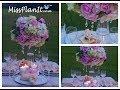 Tall Elegant Wedding Centerpiece | DIY | How To Create A Centerpiece Fit For A Princess