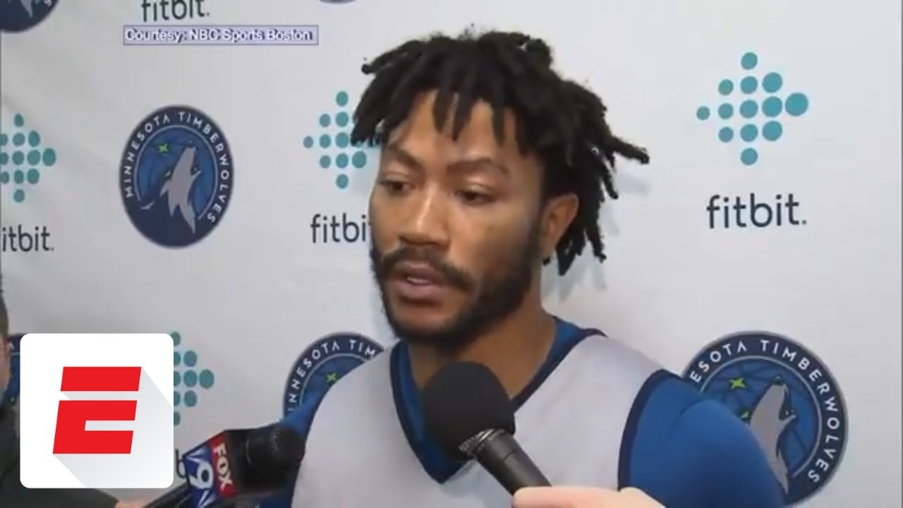 quality design 27960 3097f Derrick Rose reacts to trade to Timberwolves: 'I can play with anybody' |  ESPN