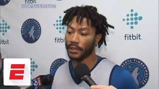Derrick Rose reacts to trade to Timberwolves: 'I can play with anybody'   ESPN