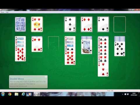 solitaire computer