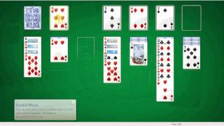 Solitaire computer game. Learn how to play and enjoy.