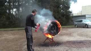 Tectro SMT GmbH, F-Exx 8.o C, ABF extinguisher, Full Tire Fire