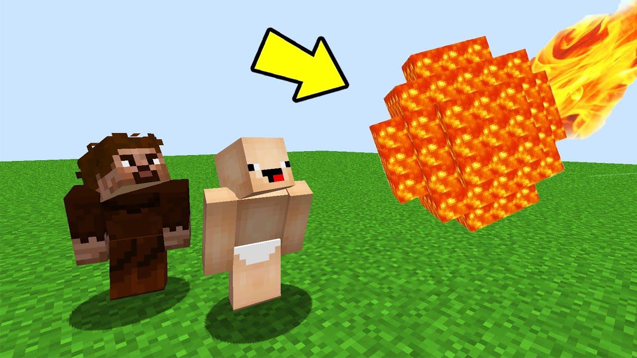 DÜNYAYA METEOR DÜŞTÜ OHA !! 😱 - Minecraft