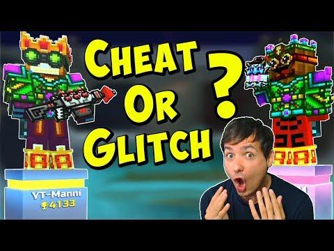 Pixel Gun 3D - CHEAT Or GLITCH ? Weird Duel Gameplay PG3D