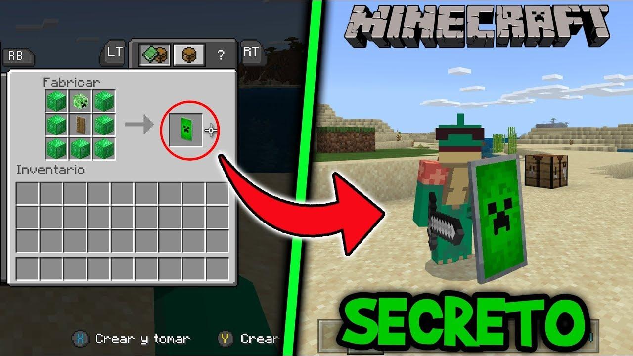 Descargar Como Hacer Escudos Secretos en Minecraft Xbox one/Pocket  Edition/W10 - cut-video.com